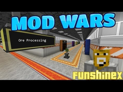 Minecraft Mod Wars - Ore Processing