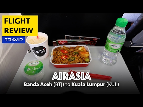 AirAsia Review: Banda Aceh to Kuala Lumpur with pre-booked meal