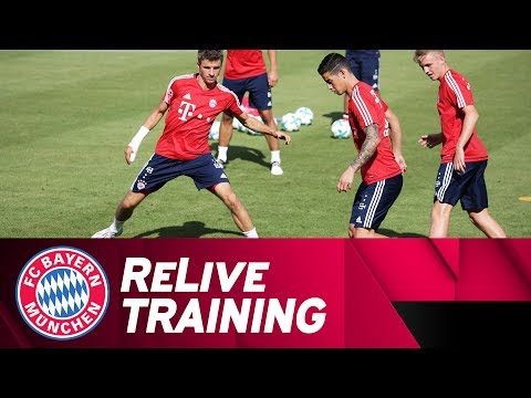 ReLive | First FC Bayern Training Session w/ James Rodríguez