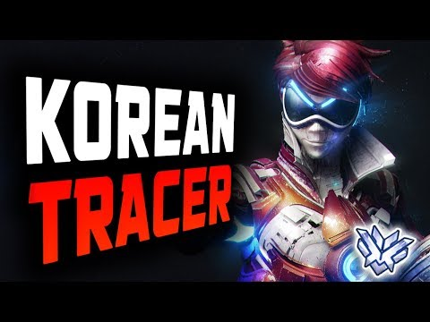 Korean Pro Tracer Dominating In Competitive - Architect! [ OVERWATCH SEASON 12 TOP 500 ] thumbnail