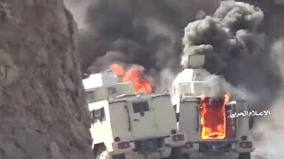 Scenes for the Saudi captives who surrender at the large Yemeni offensive in Najran