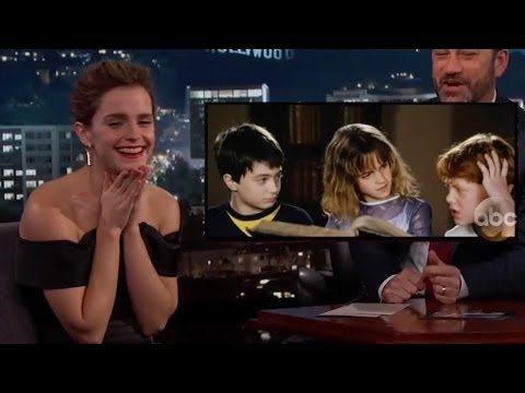 Emma Watson RELIVES Embarassing Harry Potter Outtake