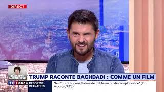 Trump raconte Baghdadi : comme un film
