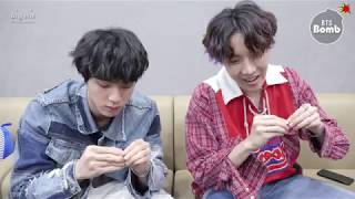 Baixar [BANGTAN BOMB] Jin & j-hope Play with Earrings - BTS (방탄소년단)