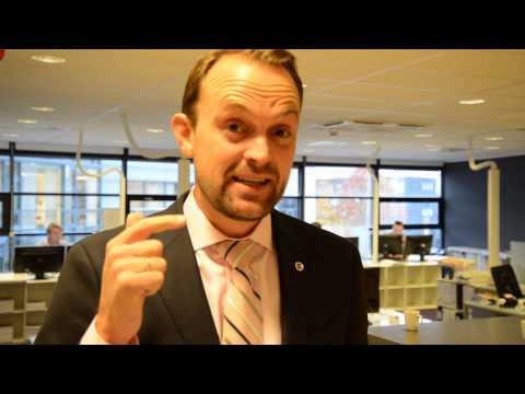OAEF-leder Anders Langtind ønsker alle sine medlemmer velkommen til NEFs Høstkonferansen