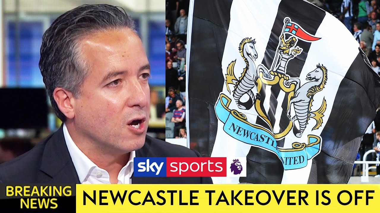 BREAKING! Newcastle United takeover is OFF after Saudi-Arabian consortium pulls out of bid