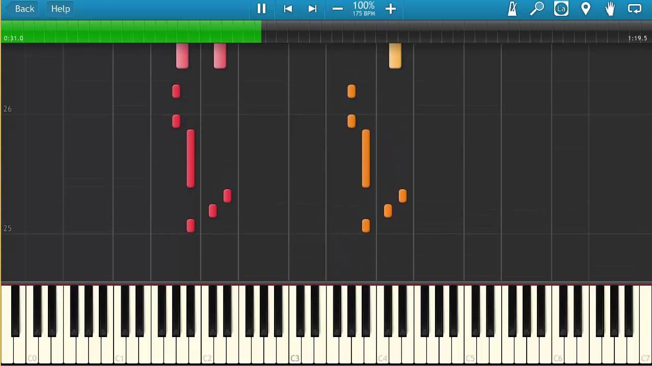 Main Theme | Splatoon Wii U | Piano Tutorial Cover @ 100