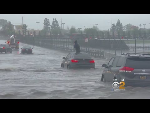 Severe Weather, Flooding In California