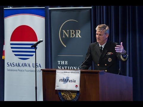 Maritime Awareness Project Launch Event: Keynote Address from Vice Admiral Robert L. Thomas Jr.