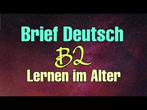 Lernen Im Alter Brief Deutsch B2 ✍👍