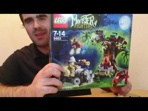 Heti Videó: 08# Lego Monster Fighters - 9463 The Werewolf