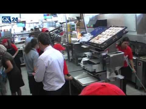 McDonalds McDrive W Koszalinie