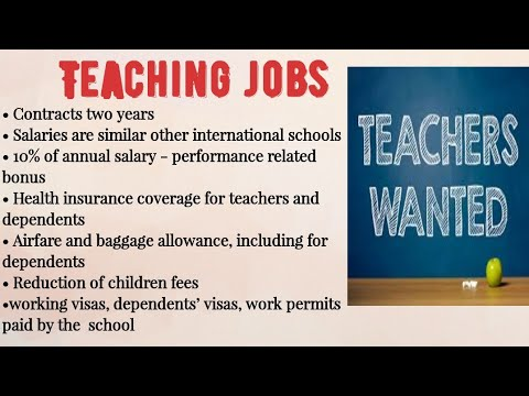 #Overcome #Teaching Jobs In International Schools