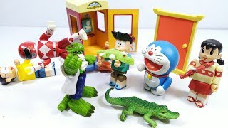 Đồ chơi Doremon Siêu Nhân bắt cá sấu giải cứu Nobita