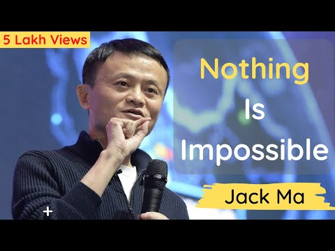 JACK MA Motivation | Nothing Is Impossible | Never Give Up | Motivational Video - Amit Alhat