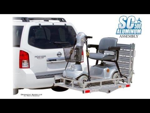 Sc500 V3 Folding Power Wheelchair Amp Scooter Carrier