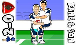 🔥KANE & SON!🔥 Tottenham vs Arsenal 2-0 (Spurs Parody Goals Highlights Premier League 2020)