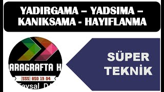 YADIRGAMA -KANIKSAMA - YADSIMA - HAYIFLANMA