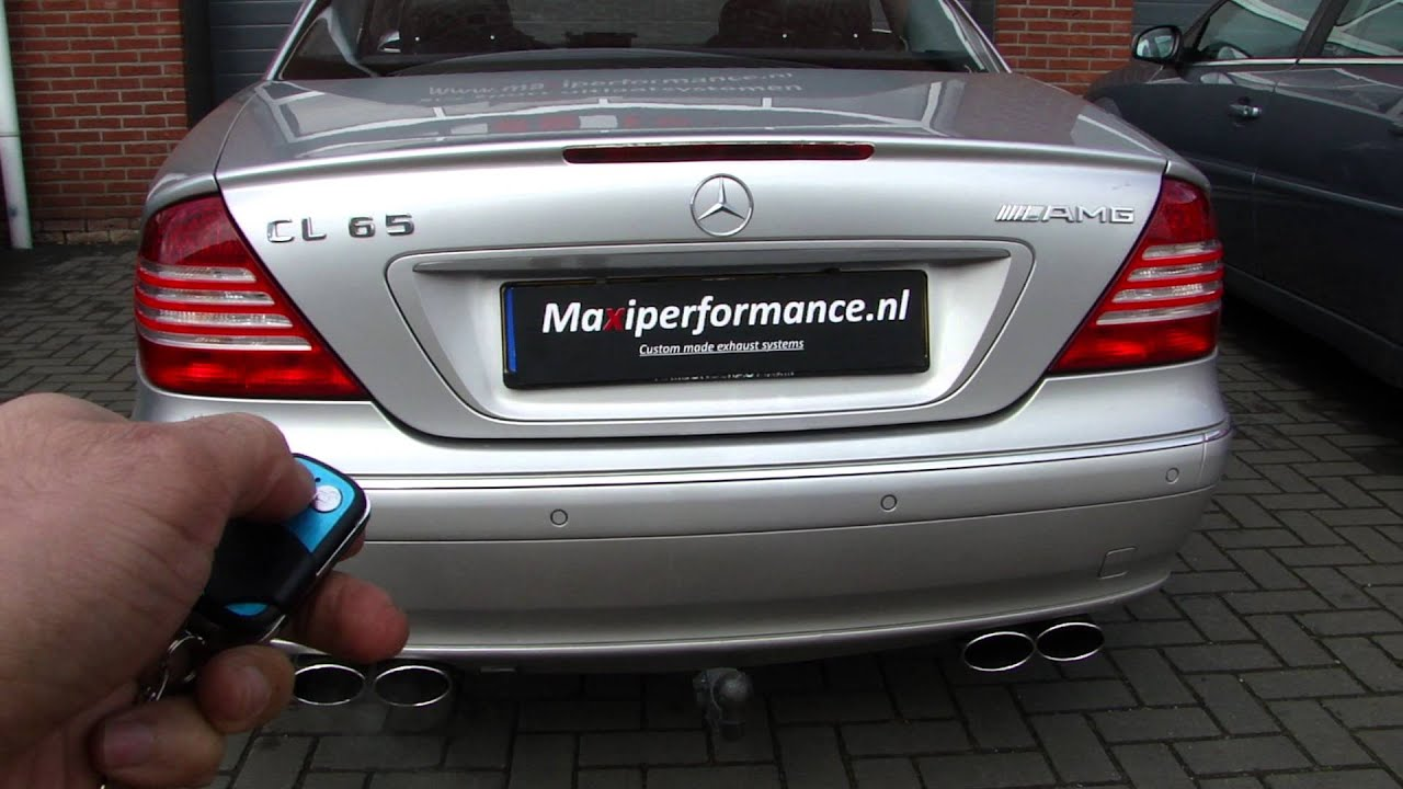 Mercedes Cl 500 Amg Duplex Exhaust Cut Out Klep Uitlaat System