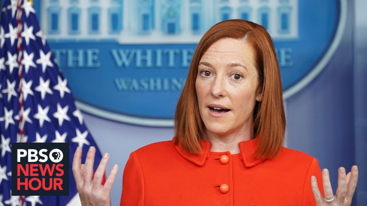Download WATCH LIVE: White House press secretary Psaki holds news briefing