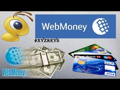 Webmoney - Internetdagi Hamyon, Ochish (registratsiya)