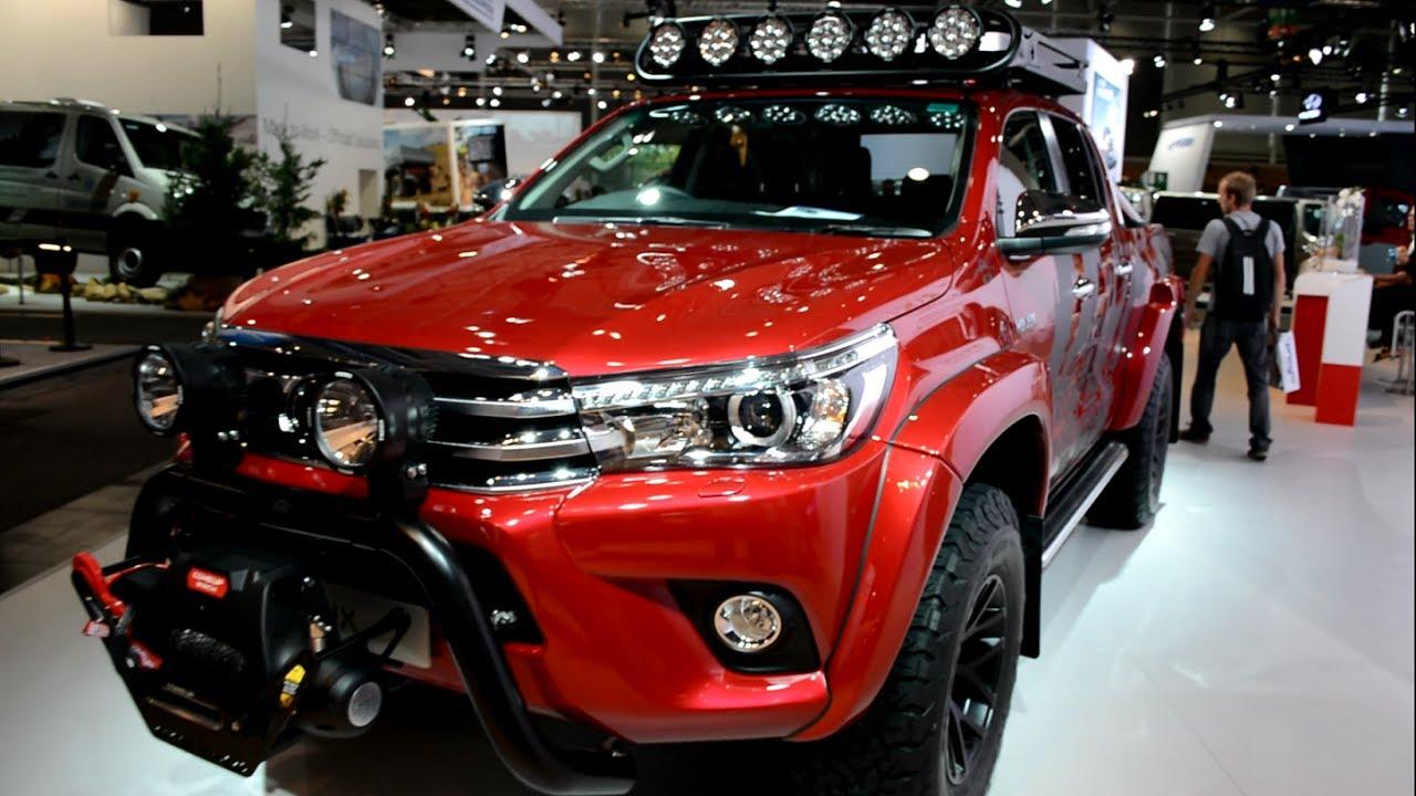 2018 Toyota Hilux Arctic Trucks - YouTube