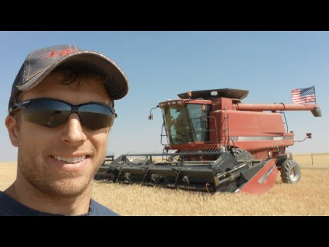 🔴Live - Welker Farms Spring Wheat Harvest 2017 - Passengers and Breakdowns