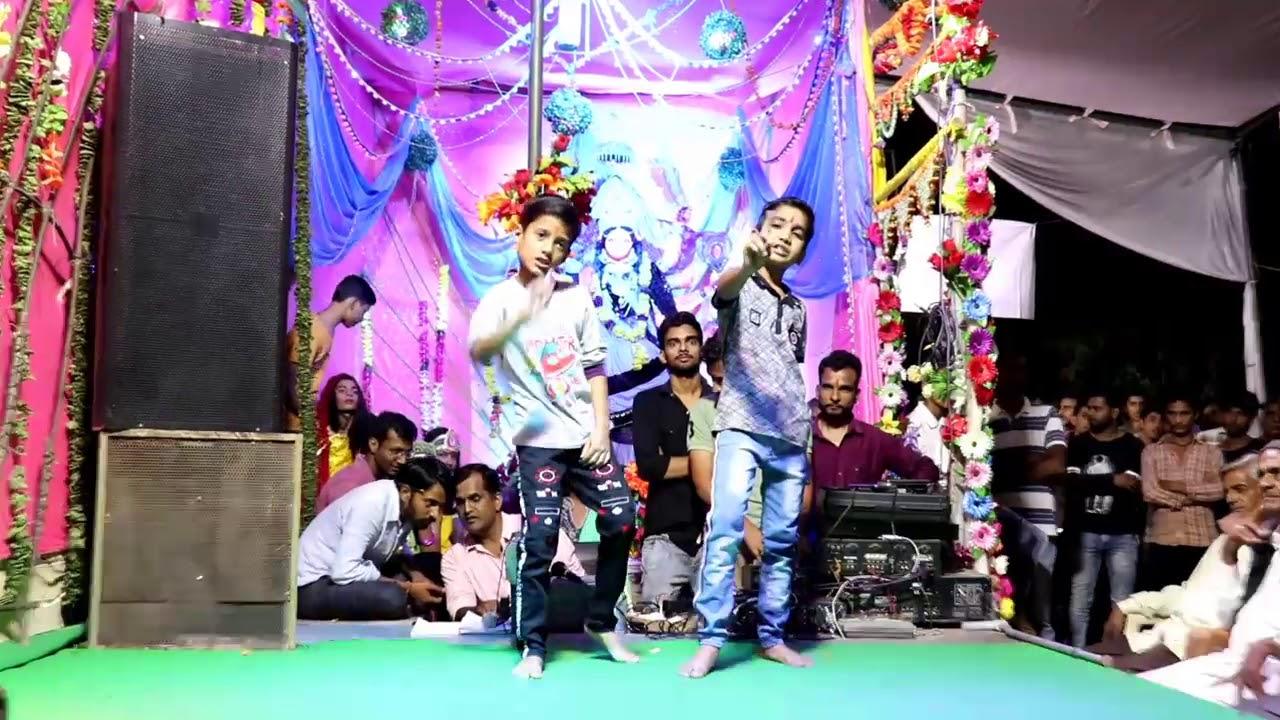 Twins Brothers Dance performance   Maha Durga Mitra Mandal