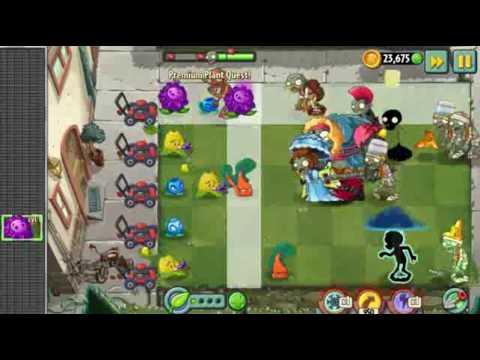Plants vs. Zombies 2 Playthrough Part 212 - Premium Plant Quest Part 35 | Nox Player 3.8.1.1