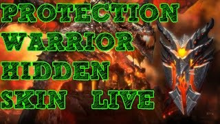 Prot Warrior Hidden Skin - LIVE!!! Plate of the Worldbreaker