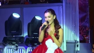 "Ariana Grande - ""Die In Your Arms"" [Justin Bieber cover] (Live in Los Angeles 11-10-12)"