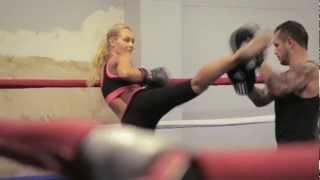 Ester van den Bosch Sports Model show reel Boxing/Kickboxing 2014