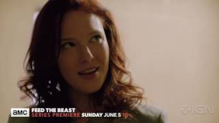 feed the beast extended trailer a new amc original series  premiere june 5th following the precher