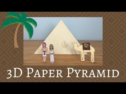 3D Paper Pyramid