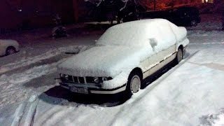 Old start cold start BMW E34