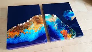 Acrylic Pour On Dry Resin