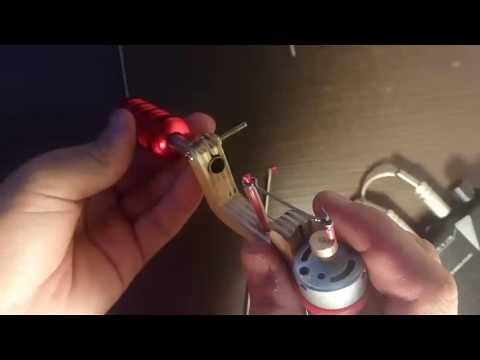 Как сделать роторную тату машинку 236