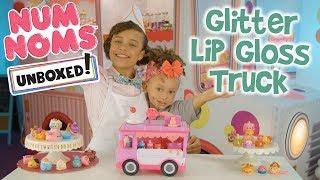 Unboxed! Season 2 | Num Noms | Episode 1: Glitter Lip Gloss Truck