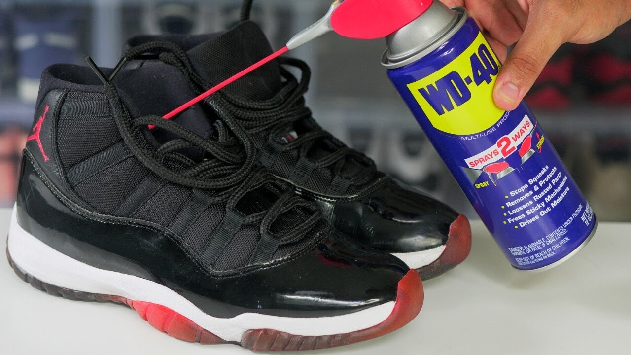 Fix Squeaky Sneakers DIY