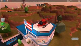 How to find the helicopter of the criminals in the Jailbreak (Roblox) Read the DESC
