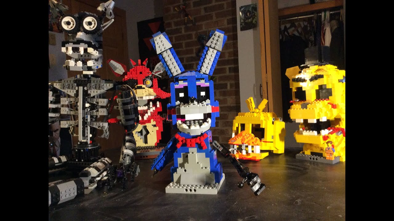 Lego five nights at freddy s toy bonnie youtube
