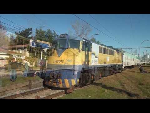 Seguimiento al tren Temuco-Santiago en su viaje diurno del 21/05/2013