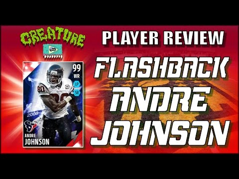 Flashback Andre Johnson Review - MUT Madden 16 - Coming In Clutch