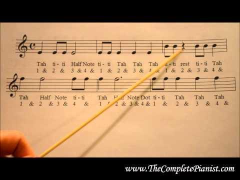 Rhythm Note Value Pyramid: Beginner Workbook 2