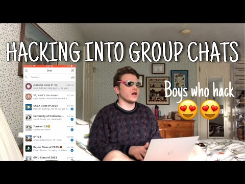 Breaking into College Group Chats!! (Major TEA Alert) (UCLA,