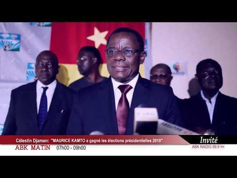 ABK RADIO _ Célestin Djamen : ''MAURICE KAMTO a gagné les elections''