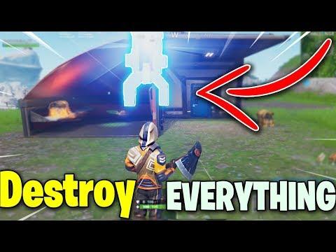 Destroy Everything You Touch! GOD MODE Glitch (Fortnite Season 7)