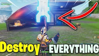 Destroy Everything You Touch! GOD MODE Glitch (Fortnite Season 7)