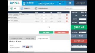 Watch complete mobile pos (point of sale) system demo. mobility is now perfect solution across the world and bv demo designed developed with aim c...