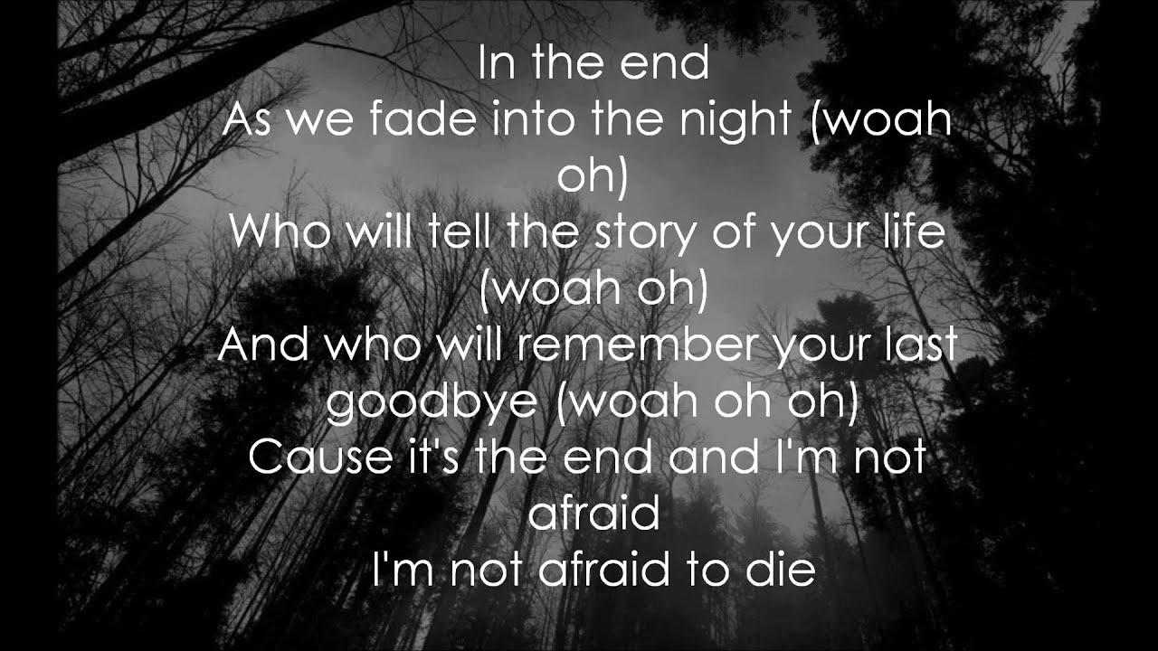 In The End - Black Veil Brides (lyrics) - YouTube